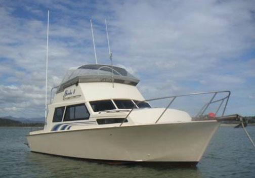 Marksman 27 - Hartley Boat Plans