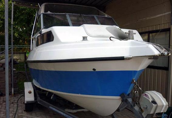 Vixen 20 Cruiser - Hartley Boat Plans